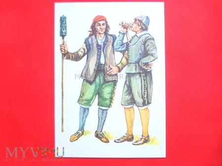 Kanonier i marynarz - XVI wiek