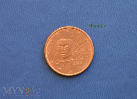 Moneta: 5 euro cent - Francja