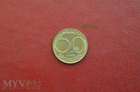 Moneta austriacka: 50 groschen