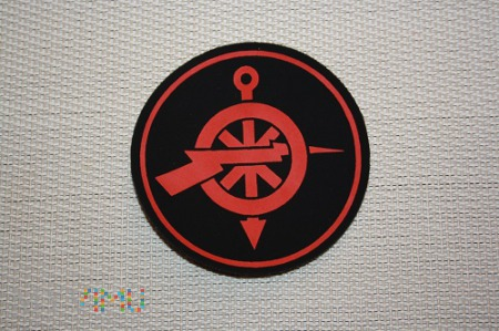 Hydroakustyk - Emblemat specjalisty MW