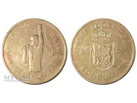 1 Consumptie Lunenberg żeton 2002