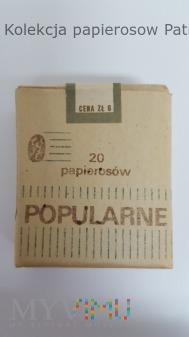Duże zdjęcie Papierosy Popularne Kraków 1979 r.