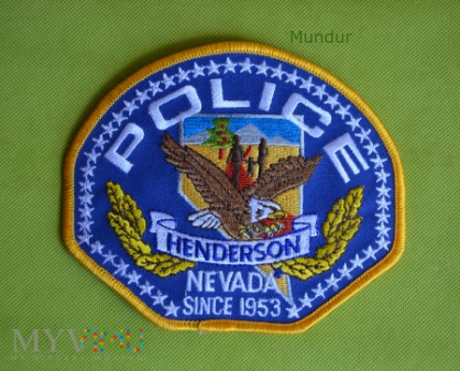 Emblemat: Henderson POLICE