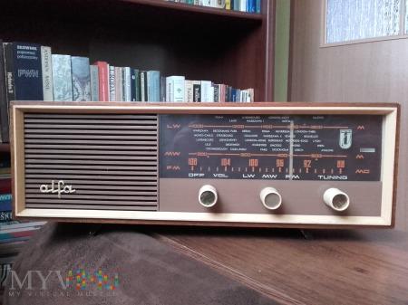 Radio Alfa ZRK wersja eksportowa UK