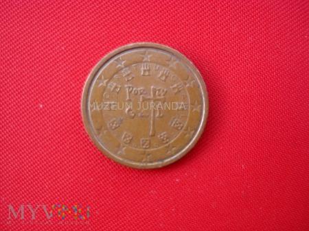 Duże zdjęcie 2 euro centy - Portugalia