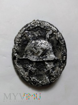 Odznaka za odniesione rany - czarna