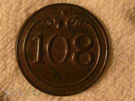 Guzik napoleoński 108