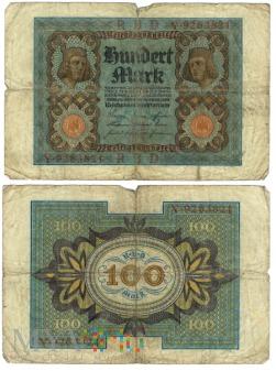 Niemcy, 100 marek 1920r. Ser.Y