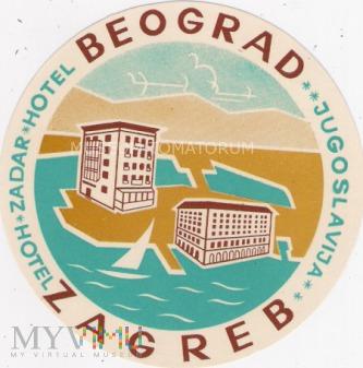 Jugosławia - Zadar - Hotele Beograd i Zagreb