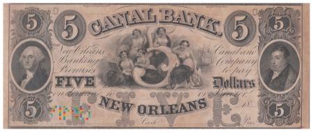 Stany Zjednoczone (Luizjana) - 5 dolarów (1840)
