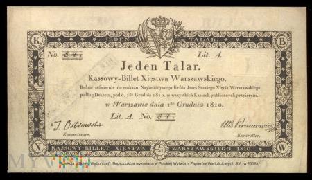 Jeden Talar, 1810