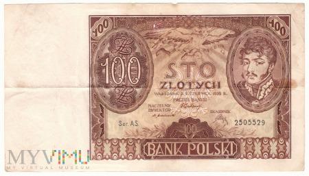 100 złotych, 1932