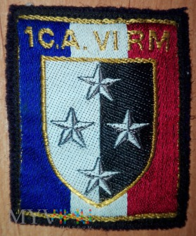 1 Corps d'Armee VI Region Militaire