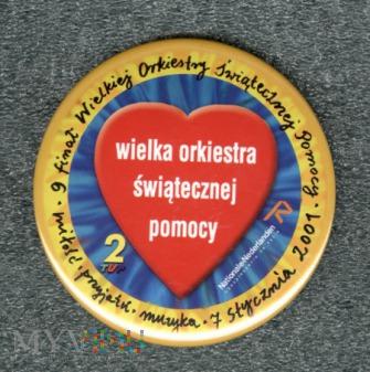 WOŚP 2001