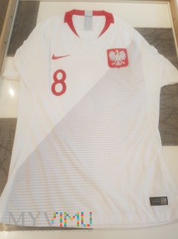 Duże zdjęcie Koszulka meczowa Karol Linetty.