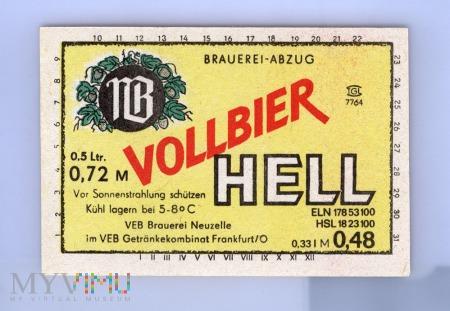 Neuzelle Vollbier Hell