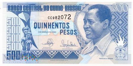 Gwinea Bissau - 500 pesos (1990)
