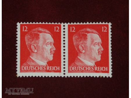 Adolf Hitler. 12 feninigów.