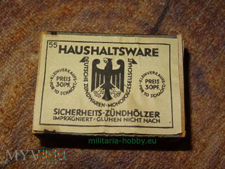 Paczka zapałek Haushaltsware
