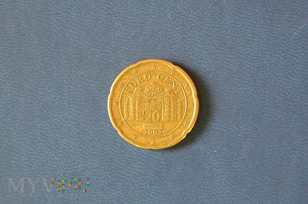 Moneta: 20 euro cent - Austria