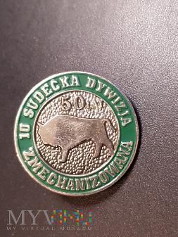 Odznaka 50 lat Sudeckiej Dywizji Zmechanizowanej