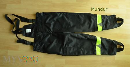 Ubranie koszarowy PSP - OSP - spodnie MATPOŻ