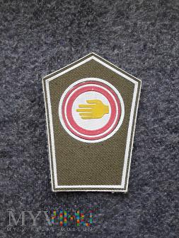 Duże zdjęcie Naszywka służby ratownictwa ogólnego OC