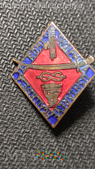 Odznaka Ushtareve Ngallnjyesa te Romes_Włochy