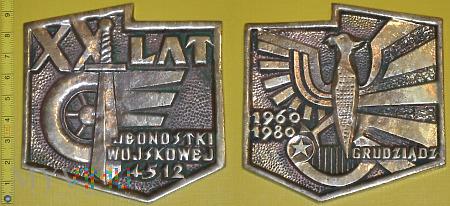 Medal kolejowy - wojskowy JW 4512 Grudziądz