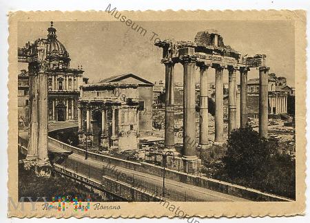 Roma - Forum Romanum - 1950