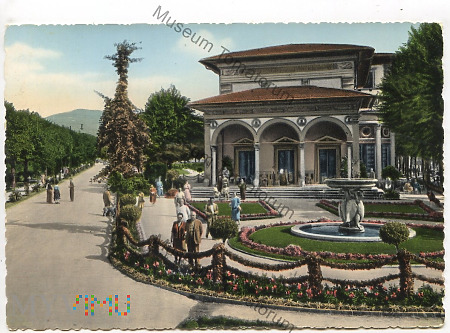MonteCatini Terme - Stabilimento Excelsior - 1956