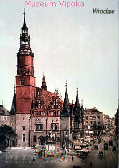 Wrocław (Breslau) - Fryderyk Wielki (1913 reprint)