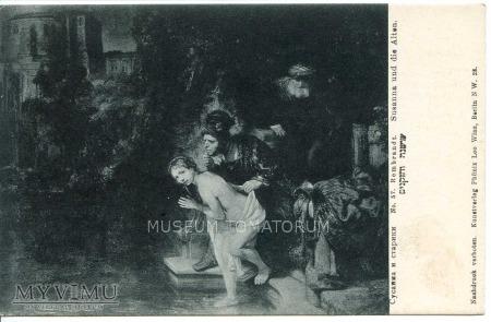 Rembrandt - Zuzanna i starcy