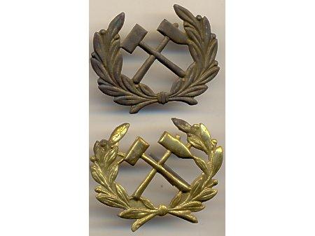 Emblemat na czako górnicze