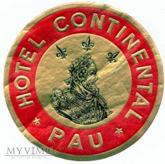 "Francja - Pau - Hotel ""Continental"""