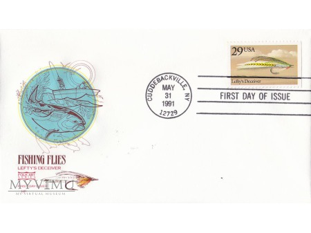 USA 1991 - FDC Folk Art