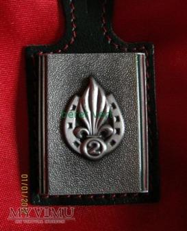 odznaka 2REI (2ème Régiment étranger d'infanterie)