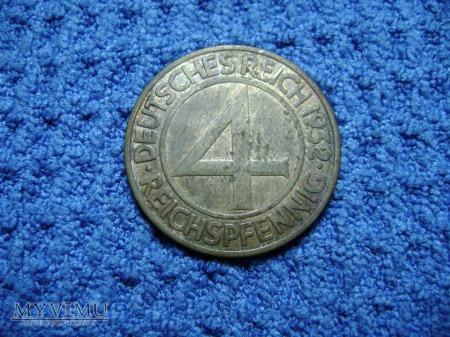 4 pfennig 1932