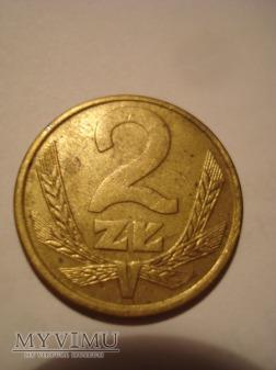 """2 ZŁ """"kłosy"""" zbiór kilku monet"""