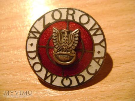 Odznaka Wzorowy Dowódca
