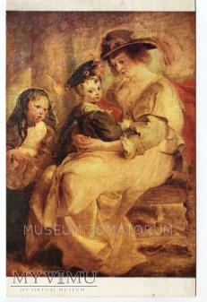 Rubens - Macierzyństwo - Helena Fourment