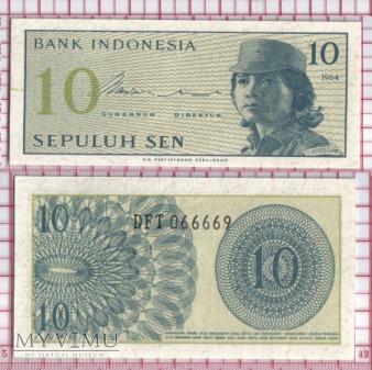 10 sen- Indonezja