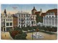 Graudenz Grudziądz - początek XX wieku - Rynek