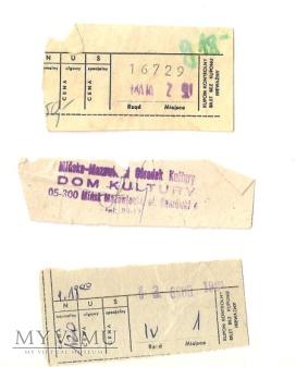 Bilety MOK Mińsk Mazowiecki