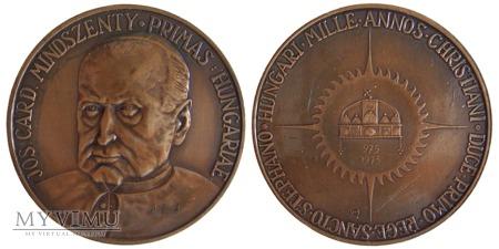 Duże zdjęcie 1000-lecie chrztu Węgier medal 1973
