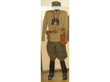 Mundur oficerski polowy letni - drelichowy