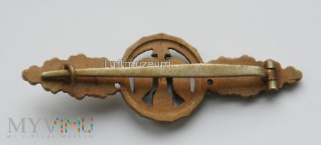 Fronflugspange für Jäger/Tagjäger Bronze