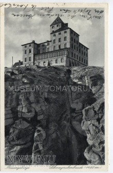 Karkonosze Śnieżne Kotły Schneegrubenbaude 1935