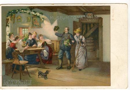 Dachshund - Jamnik towarzysz człowieka - 1905