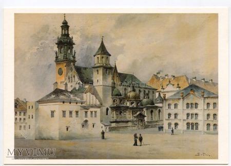Kraków - Katedra na Wawelu - 1893